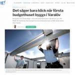 Helsingborgs dagblad om flexon